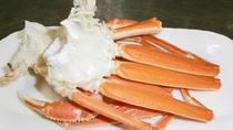 *越前カニ料理一例/目の前の茱崎漁港から仕入れるので新鮮そのもの!!