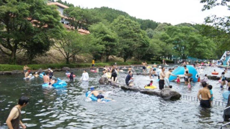 施設/夏にはプールも解放!お子様はもちろん、家族そろって楽しめます♪
