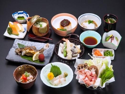 【4月-11月】夕食は地のもの満載!安曇野御膳の1泊2食付プラン【温泉】