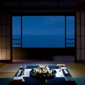 【オーシャンビュー】海側標準和室 12.5帖+広縁