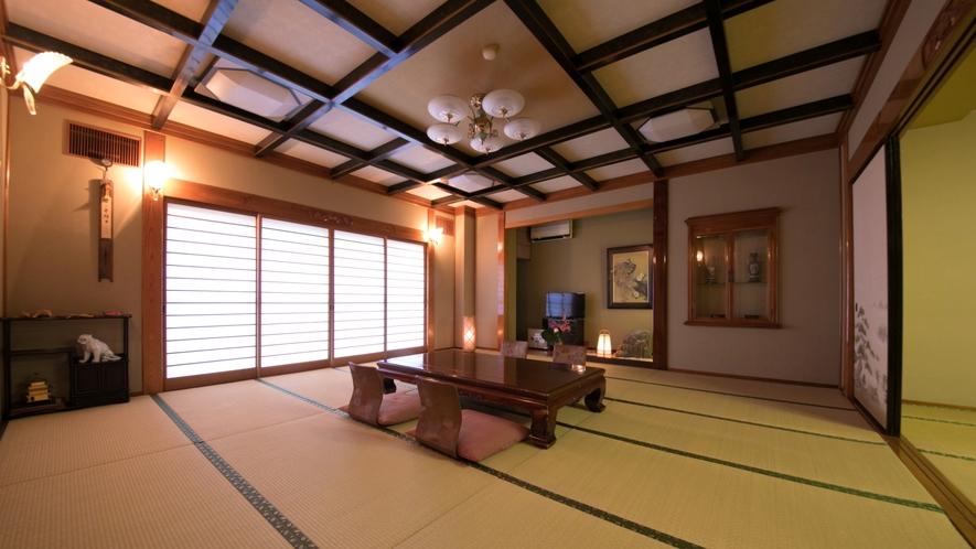 【特別室】25畳の広々としたお部屋です。