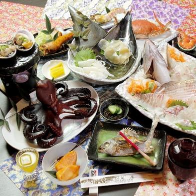 名鉄海上観光船20%OFF【グレードアップ】4月〜9月限定☆活きカニ付海鮮料理!-波nami-