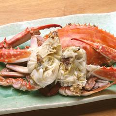 NEW【日帰り】4〜9月限定☆島の恵み!定屋定番の活きガニ付き海鮮料理を舌鼓!