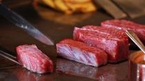 鉄板焼き/とろける滋賀のブランド牛「近江牛」をお召し上がりください。