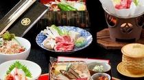 大老御膳会席/味だけでなく見た目にもこだわった特製料理です。