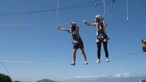 高さ8m!空中アスレチックに空中スライダーでスリルを味わえる「ひこねスカイアドベンチャー」