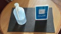 感染症対策①ホテル館内各所に消毒液を設置しております