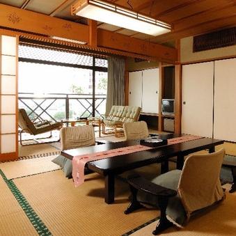 【お部屋食】【海側指定】和室10畳A(バス・トイレ付)