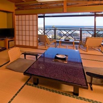 【お部屋食】【海側指定】和室12畳A(バス・トイレ付)