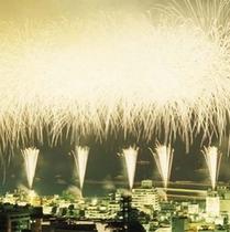 【熱海海上花火】フィナーレ「ナイアガラ」