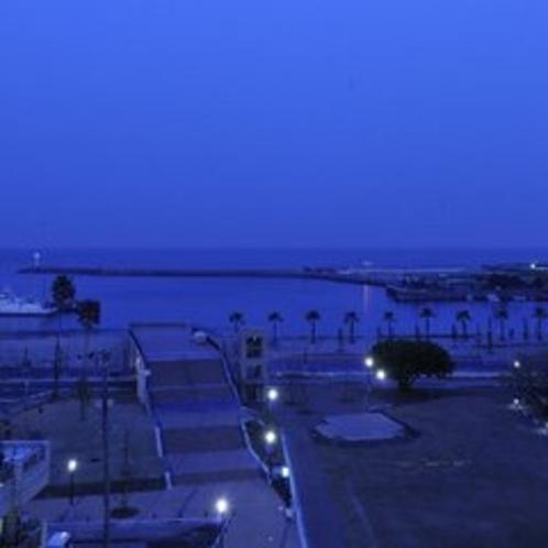 【眺望】夕景海
