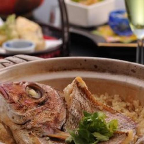 【料理一例】鯛飯プランイメージ
