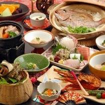 【料理】鯛飯&伊勢海老付!楽天限定人気メニューがセット♪