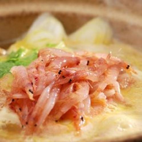 【料理一例】伊豆の味!桜えび鍋