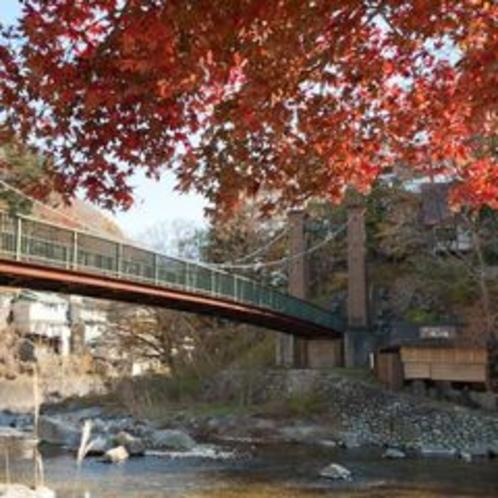 ■やまゆりの吊り橋と楓の湯