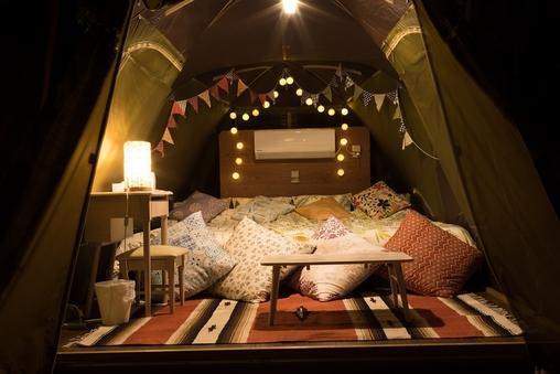 むりぶしプラス 2ベッドテント