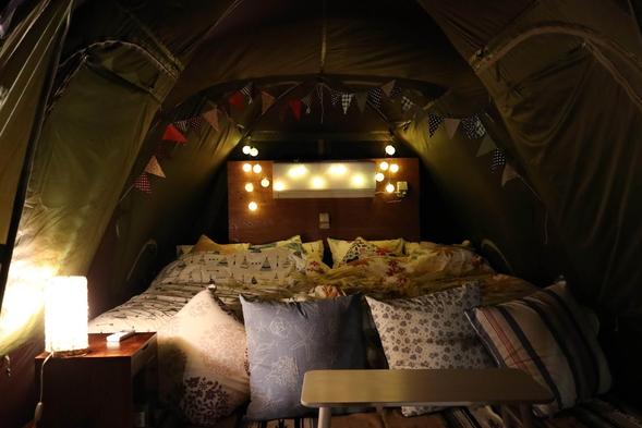 【手ぶらでワクワクドキドキ・キャンプ体験】むりぶしPLUSスタンダードタイプ