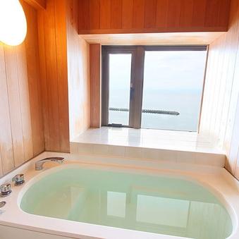 アップグレード:【禁煙】《海の見える内風呂付き》和室10畳