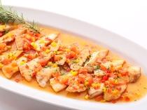料理(地魚のイタリアングリル)