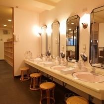 1F 大浴場 パウダールーム