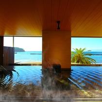 海の見える大浴場