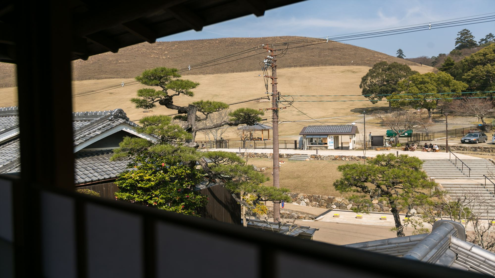 本館バス付き和室【明日成】からの眺め