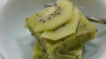 *【夕食のデザート】キウイの手作りシャーベット★(一例)