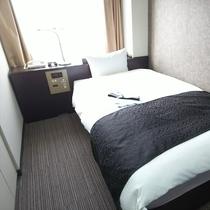 シングルルーム②(広さ16.5㎡/ベッド幅110cm)