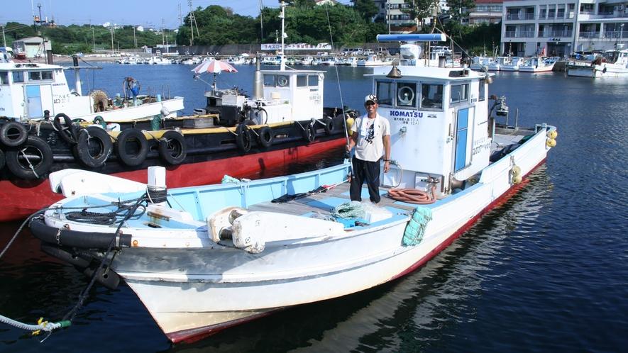 *【その他】漁師の主人が獲ってくる新鮮な魚介類が自慢です!