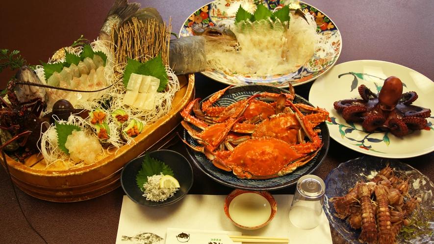 *【料理】漁師の主人がその日に獲ってきた新鮮な海の幸をどうぞ!