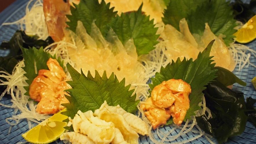 *【料理】獲れとれピチピチ鮮度抜群の魚をご堪能下さい。