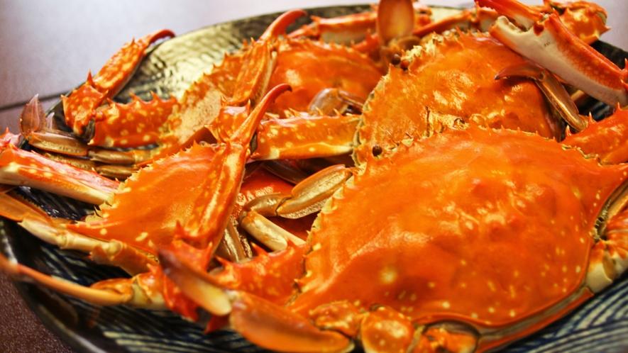 *【料理】日間賀島の名産のひとつ「ワタリガニ」