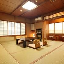 【和室12畳トイレ付】磯部温泉が見渡せる眺望の良い部屋
