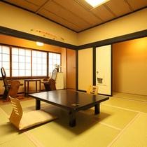 【和室8畳+1.5畳トイレ付】磯部温泉が見渡せる眺望良い部屋