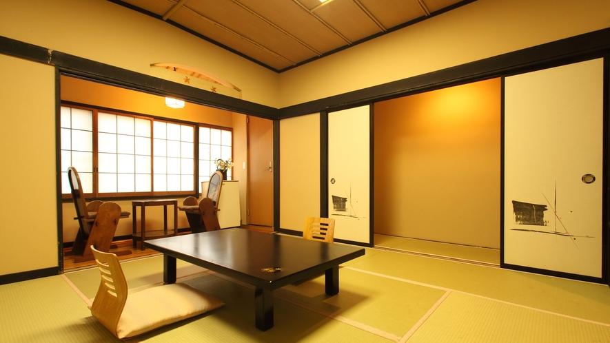 榛名【和室8畳+1.5畳トイレ付】磯部温泉が見渡せる眺望良い部屋