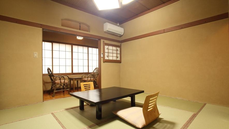 赤城・浅間【和室8畳・トイレ付】磯部温泉が見渡せる眺望の良いお部屋