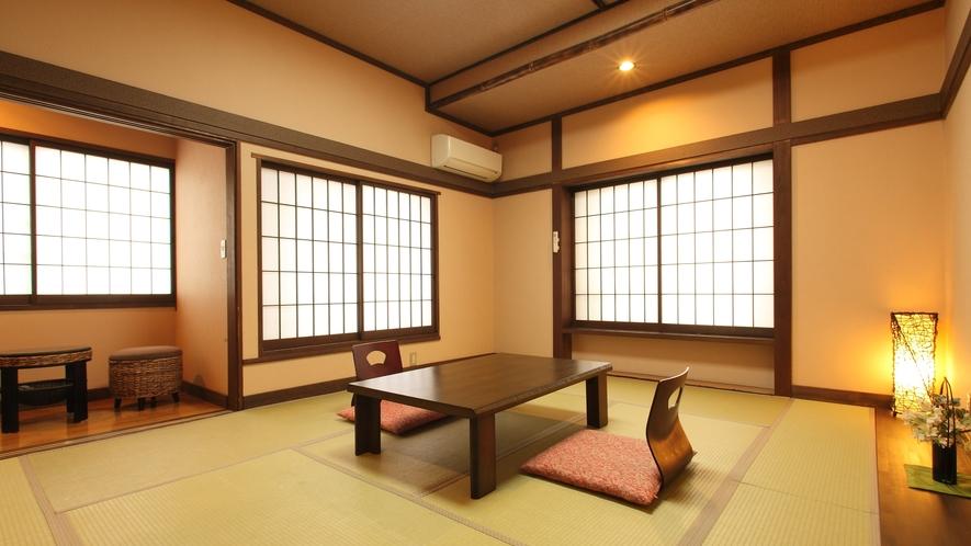穂高【アジアンテイスト和室10畳・トイレなし】角部屋