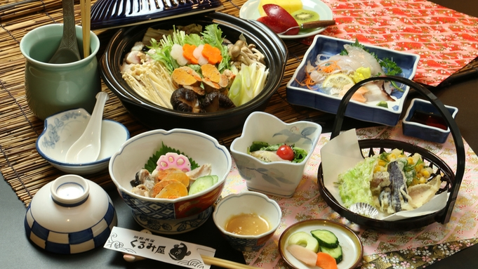 【朝食は付きません!】朝はのんびり&リーズナブルにあんこうを食す旅上手の選択[民宿-夕食のみ]