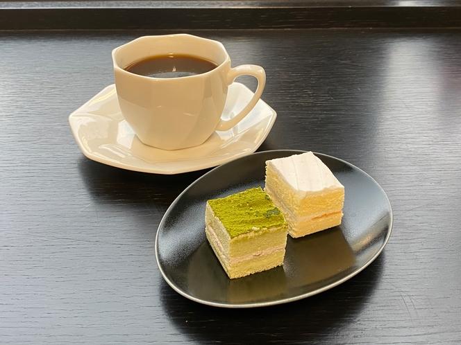 レディースプラン ケーキセット