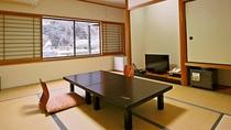 和室10帖 滝一望のお部屋
