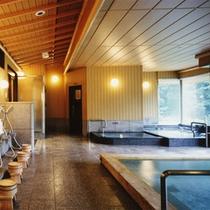 *【天然温泉大浴場】5階で展望が良いです!