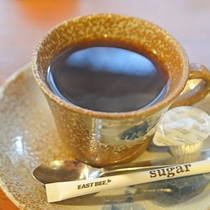 *【温泉コーヒー】人気の温泉水で淹れたコーヒーは、よりまろやかになって美味しいと好評です。