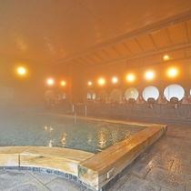 *【温泉内湯】広々とした内湯で潮原温泉をしっかりとお楽しみいただけます。