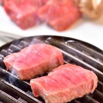 エゾシカ肉七輪焼き