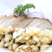 ホエー豚の醤油煮
