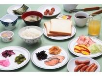 【朝食】6:30~9:00