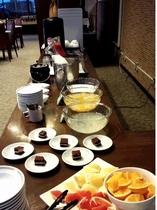 朝食バイキング デザート