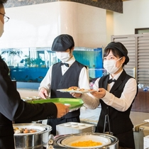 【朝食】和洋バイキング(カフェテリア形式)