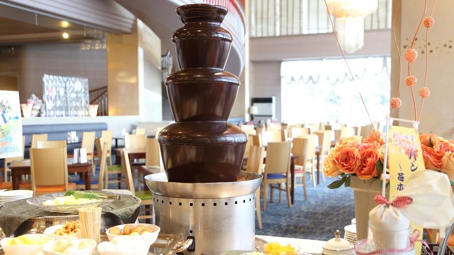 チョコレートファウンテン ※写真イメージです。