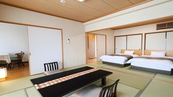 【三間】東館和洋室8畳+6畳+DK ツイン(バス・トイレ付)